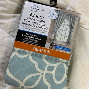 63 Inch Panel Curtains (2 pk)